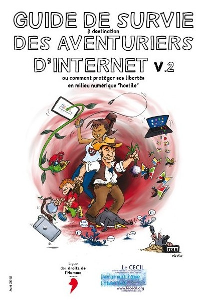 Illustration Guide de survie des aventuriers d'Internet