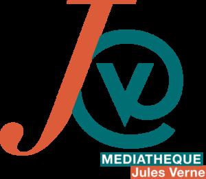 Logo de la médiathèque Jules Verne